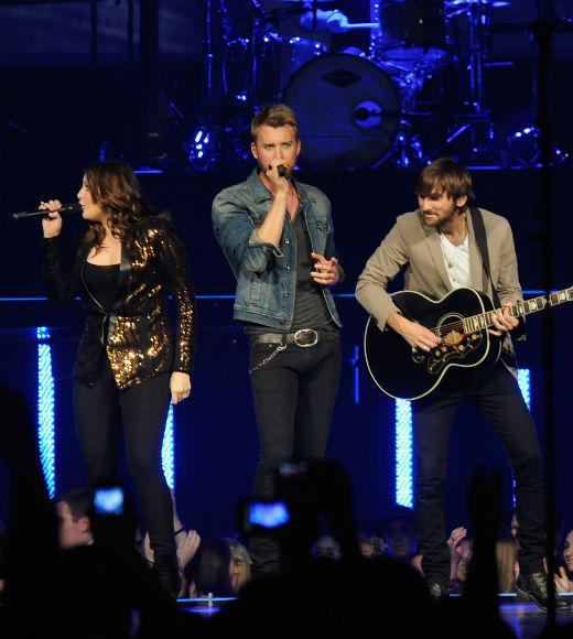 The Band Perry <br> Eli Young Band <br> Lady Antebellum (pictured) <br> Rascal Flatts <br> Thompson Square
