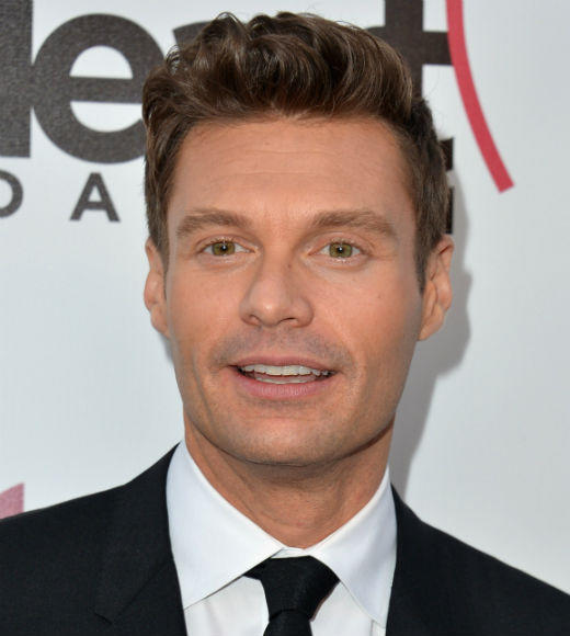 Teen Choice Awards 2012 Nominees: Justin Bieber  Miley Cyrus  Jimmy Fallon  Demi Lovato  Ryan Seacrest (pictured)