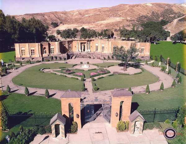 "The ranch's versatile landscape makes it a popular shooting location for such TV shows as ""CSI,"" ""Sons of Anarchy"" and ""Criminal Minds"" as well as feature films that have included ""Pearl Harbor"" and, above, a set for ""Princess Diaries 2: Royal Engagement."""