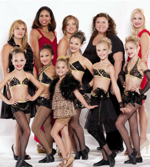"""Dance Moms"" (pictured)<br> ""Jersey Shore"" <br> ""Keeping Up With The Kardashians"" <br> ""Punk'd"" <br> ""Tia & Tamera"""