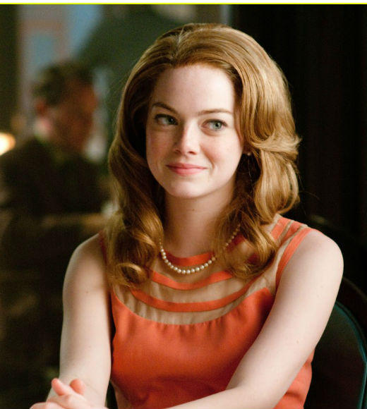 "Sandra Bullock, ""Extremely Loud & Incredibly Close"" <br> Viola Davis, ""The Help"" <br> Scarlett Johansson, ""We Bought a Zoo"" <br> Rachel McAdams, ""The Vow"" <br> Emma Stone, ""The Help"" (pictured)"