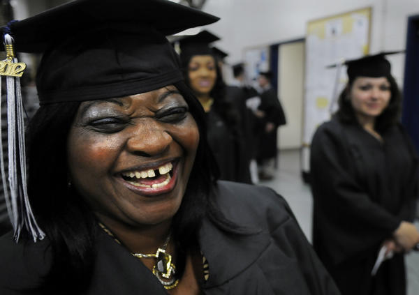 The Central Connecticut State University commencement exercises were held Friday night inside the XL Center. The arena was packed as the thousands of graduates waited to receive their degrees. Gov. Dannel P. Malloy gave the commencement address.
