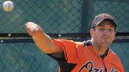 WASHINGTON — Once considered a key member of the Orioles' young rotation, right-hander <strong>Brad Bergesen</strong> will be pitching for Triple-A Norfolk on Sunday without a spot on the organization's 40-man roster.