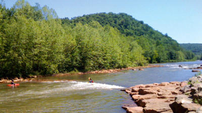 The Stonycreek Rendezvous is an annual whitewater boating event made possible by releases from the Quemahoning Reservoir.