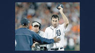 DETROIT (AP) — Two outs were all that separated Justin Verlander from yet another rare achievement — and an exclusive club that includes Cy Young, Nolan Ryan and only three other pitchers.
