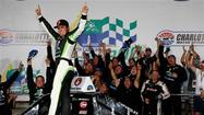 Lofton races to first Truck Series victory