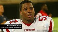 Boston College hands Freedom lineman Kevin Maurice his first offer; Eagles offer Jeff Badet too