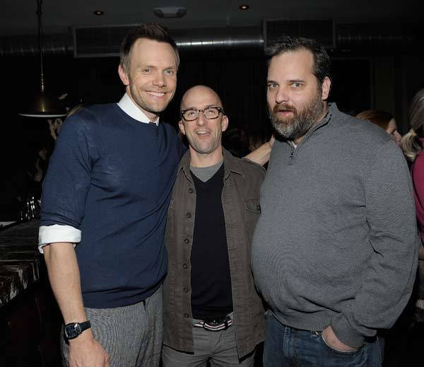 Actors Joel McHale and Jim Rash and 'Community' creator Dan Harmon.