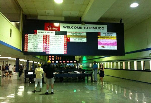 Welcome to Pimlico #preakness