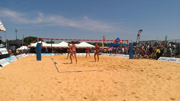 Volleyball at the Preakness