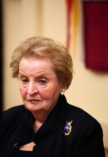 "Former Secretary of State Madeleine Albright: ""NATO provides an anchor of stability that is underappreciated on both sides of the Atlantic perhaps because it has been with us for so long."""