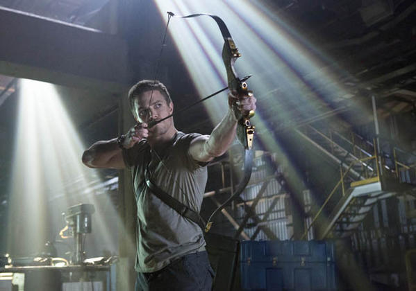 "<b>Who's in it?</b> Stephen Amell as Oliver Queen (pictured). Also stars Colin Donnell as Tommy, Katie Cassidy as Laurel Lance, David Ramsey as John Diggle, Willa Holland as Thea Queen, with Susanna Thompson as Moira Queen and Paul Blackthorne as Det. Quentin Lance. <br><b>What it's about:</b> Based on the DC Comics hero who we last saw in ""Smallville"" (and played by Justin Hartley, now starring in ""Emily Owens, M.D.,"" ""Arrow"" tells the tale of billionaire playboy Oliver Queen, who after being presumed dead for five years returns to Starling City a changed man who has heroic deeds planned. It has an all-star production team, including executive producers Greg Berlanti (""Green Lantern,"" ""Brothers & Sisters""), Marc Guggenheim (""FlashForward,"" ""Eli Stone""), Andrew Kreisberg (""Warehouse 13,"" ""The Vampire Diaries"") and David Nutter (""Smallville,"" ""Supernatural,"" ""Game of Thrones""). <br><b> How long before I bail?</b> Those producers promise a darker hero story than ""Smallville,"" which can only be a plus. And with Amell in the lead role--check him out in the previews--I'm in for at least 10 episodes and probably more. I see a Shirtless Man of the Week for the fall. <br><a href=""http://www.redeyechicago.com/entertainment/tv/redeye-stephen-amell-as-green-arrow-20120319,0,7991934.story"">1st Look at Stephen Amell as ""Arrow""</a>"