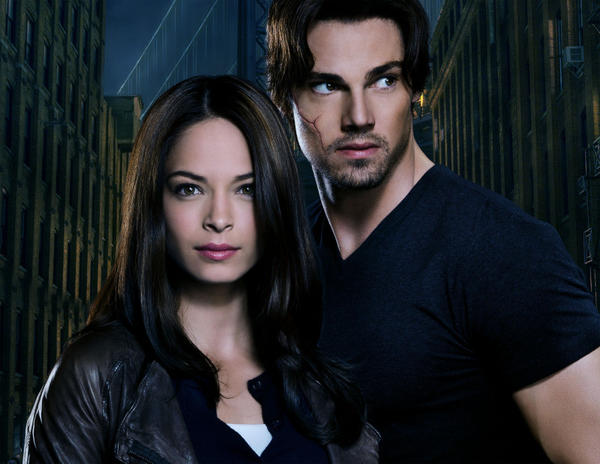 <b>Who's in it?</b> Kristin Kreuk as Catherine (from left) and Jay Ryan as Vincent. Also stars Max Brown as Evan, Nina Lisandrello as Tess, Nicole Gale Anderson as Heather, Austin Basis as J.T., and Brian White as Joe. <br><b>What it's about:</b> The star-crossed love story with which we're all familiar gets modernized (like the 1980s CBS version) and gets a procedural twist. Det. Catherine Chandler discovers that handsome doctor Vincent Keller is the man who saved her life years earlier. Actually, the beast that Vincent becomes when enraged saved her life, because you can't have a beastly looking leading man in a romance, can you? <br><b> How long before I bail?</b> They're awfully pretty, aren't they? Still, this drama could get really corny really fast, so I'm a bit leery to commit to more than five episodes.