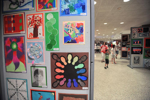 Artwork from local schools was on display at the Annual Parkland Festival of the Arts that was held at Parkland H.S. on Saturday.