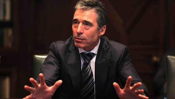 NATO's Secretary General Anders Fogh Rasmussen meets with the Chicago Tribune's Editorial Board.