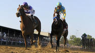 I'll Have Another holds off Bodemeister to win 2012 Preakness