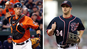 Orioles notebook: Wieters advises Nationals' Harper to 'just be himself'