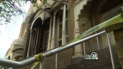 Hare Krishna Temple Damaged By Fire