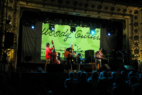The Woody Guthrie tribute concert at the Metro in Wrigleyville on Saturday, May 19, 2012.