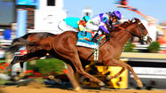 The largest crowd in Preakness Stakes history watched the thrilling victory of a horse that's now on a Triple Crown hunt, jammed to pop band Maroon 5 and basked under a Saturday sky whose only clouds were the wispy letters of an advertisement sprayed from a plane.