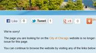 Officials say the city's website was hacked today, though users were able to access most online services.