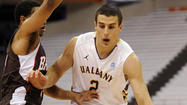Albany shooting guard transfer Logan Aronhalt commits to the Terps