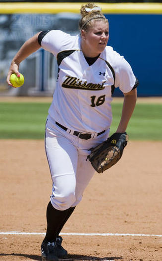 Missouri ace Chelsea Thomas,