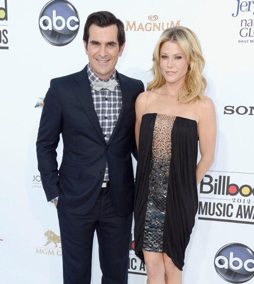 Billboard Music Awards 2012: Red carpet arrivals: Ty Burrell and Julie Bowen