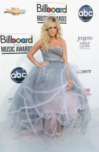 Billboard Music Awards 2012: Red carpet arrivals: Carrie Underwood