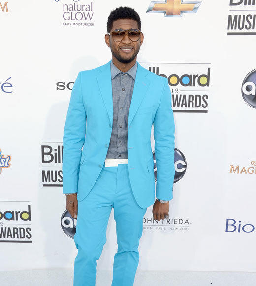 Billboard Music Awards 2012: Red carpet arrivals: Usher