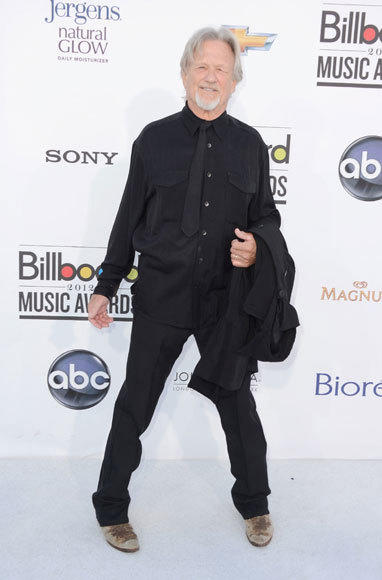 Billboard Music Awards 2012: Red carpet arrivals: Kris Kristofferson