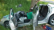 Detectives continue to investigate why a car with five teenagers crashed into a tree Saturday morning.
