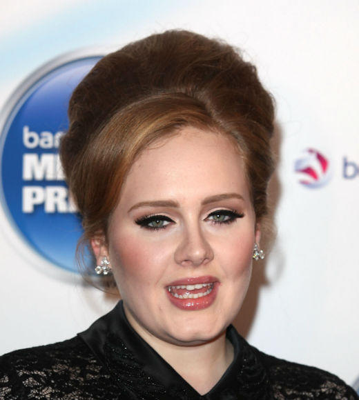 "Adele - ""19""<BR> <b>WINNER: Adele - ""21"" (pictured) </b><BR> Michael Buble - ""Christmas""<BR> Lady Gaga - ""Born This Way"" <BR> Justin Bieber - ""Under The Mistletoe"""