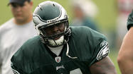 Jason Peters could have just as well tried pole-vaulting over a barbed-wire fence or wrestling a startled grizzly bear.