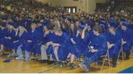 Diplomas were awarded to about 260 graduating seniors during commencement at Central High School on Sunday.