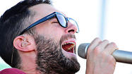 Adam Levine and Maroon 5 at Preakness 2012 [Pictures]