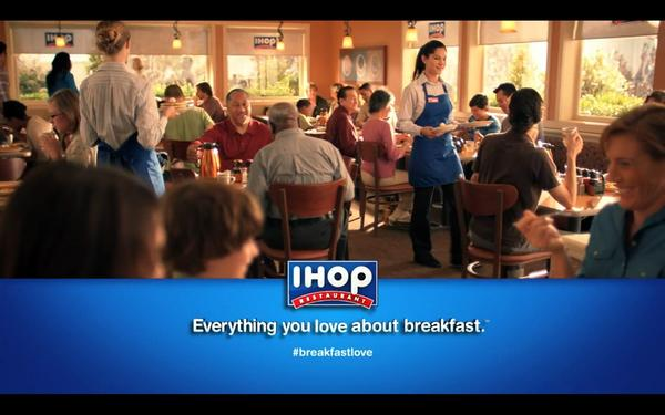 IHOP is rolling out a new advertising campaign this week focusing on breakfast.