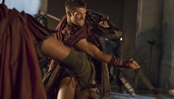 "Liam McIntyre plays Spartacus in Starz' ""Spartacus: Vengeance,"" deemed the show with the highest dead body count."