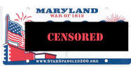 Banned Md. vanity plates include HEROIN; SUX2BU allowed