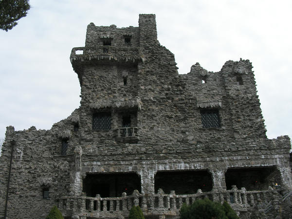 Gillette Castle in East Haddam stands high on the banks of the Connecticut River. The Essex Steam Train and Riverboat is offering train rides to the Chester/Hadlyme Ferry landing for those who would like to cross the Connecticut River and hike to the castle and its 184-acre grounds.
