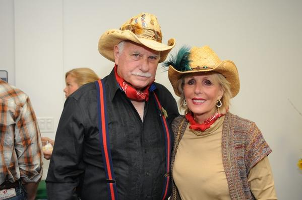 "Howard Schnellenberger, left, and Beverlee Schnellenberger at Florida Atlantic University's (FAU) seventh annual ""Shingdig,"" which was hosted by the Broward Seaside Burrow, a chapter of FAU's National Alumni Association."