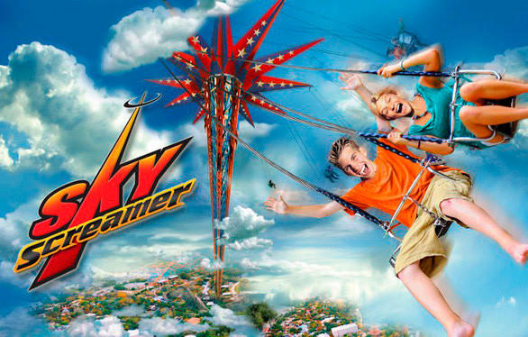 Six Flags Great Adventure will also add a 150-foot-tall Sky Screamer swing tower this summer, similar to rides recently installed at Six Flags St. Louis (Missouri) and Six Flags Discovery Kingdom (California).