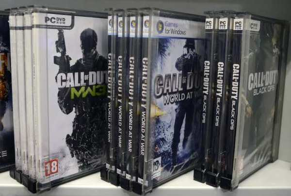 ''Call of Duty'' games, produced by Activision Blizzard Inc.