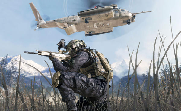 "An image from ""Call of Duty: Modern Warfare 2."""