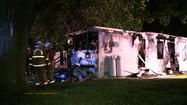 Pictures: South Annville Township Mobile Home Fire