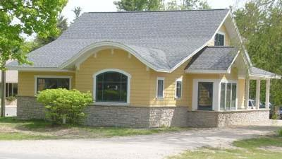 The Elaine Keiser Architect firm now operates from this building on M-119 near Petoskey.