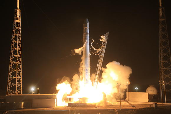SpaceX's Dragon spacecraft launched Tuesday.