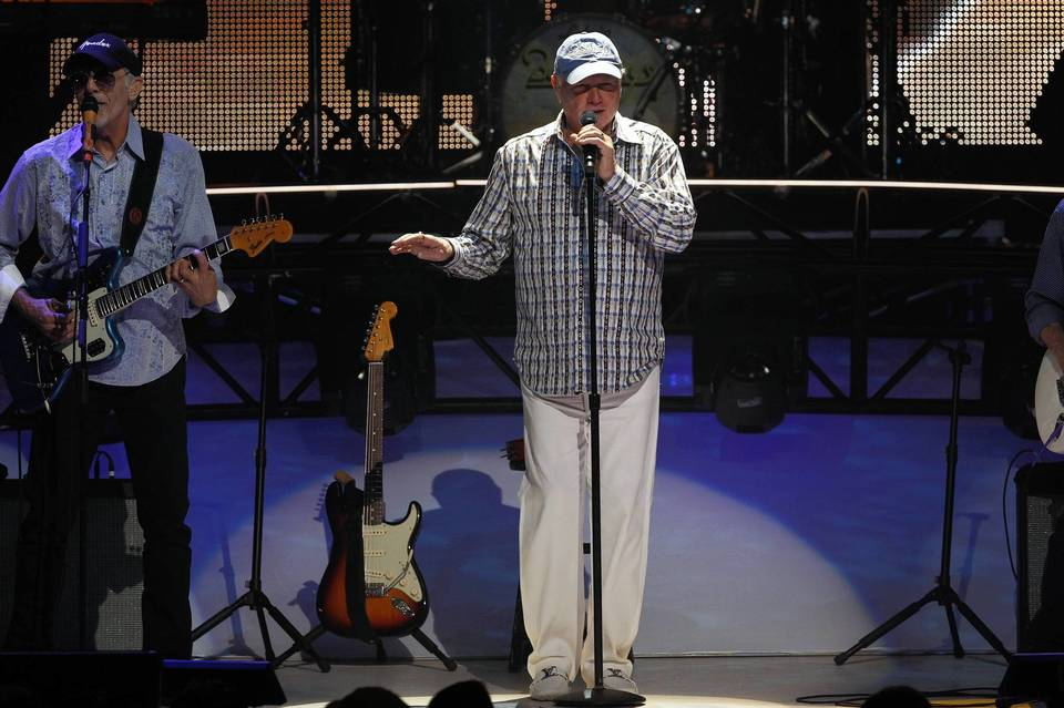Mike Love and the Beach Boys performing at the Chicago Theater.