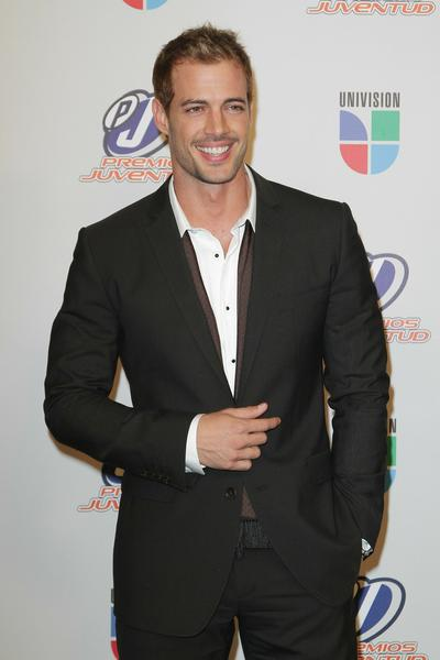 Actor William Levy poses in the press room at the Univision Premios Juventud Awards at BankUnited Center on July 15, 2010 in Miami, Florida.