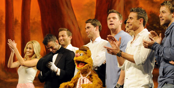 Thirteen bachelors take to the stage and join Emily and the beloved Muppets for a live performance benefitting The Ricky Hendrick Centers for Intensive Care at The Levine Children's Hospital.